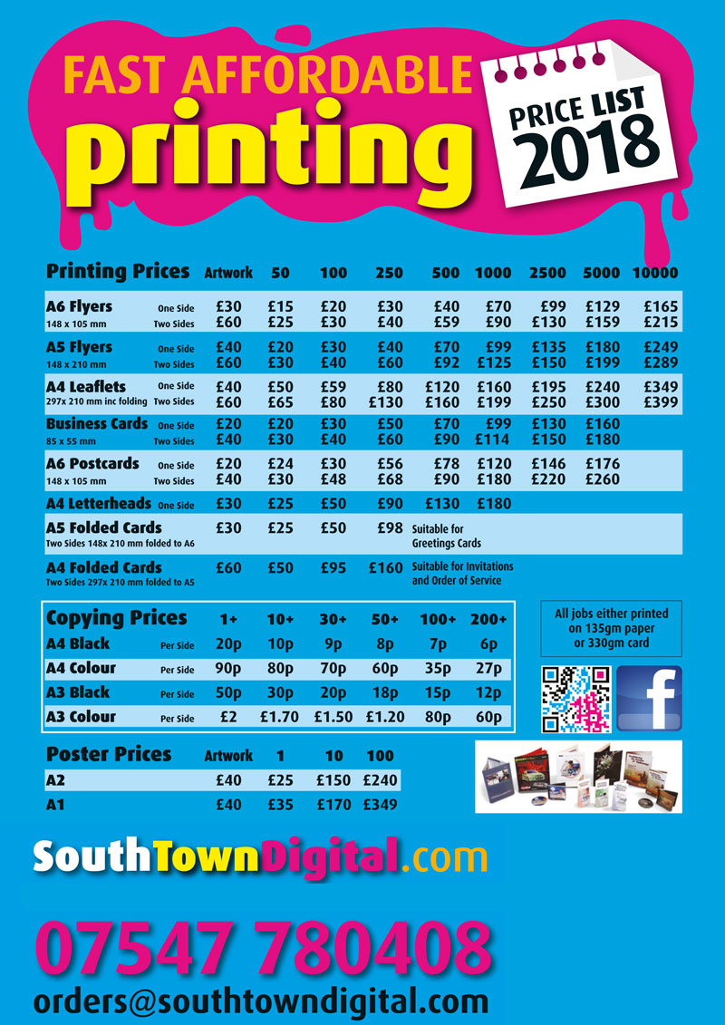 South Town Digital, southtowndigtal.com, fast affordable print and ...